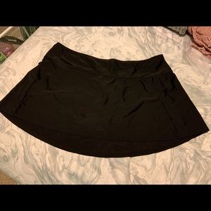 🏖Black swim skirt size 20W/22W by Ava Viv🖤